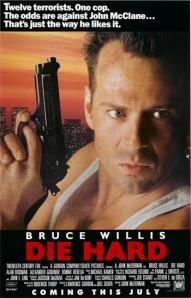 Die Hard (1988) poster.