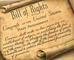 The very first amendment, which informs one of the highest possible callings in a free society.