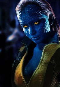 Rebecca Romijn: As Mystique for X-men.