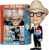 Barry in hat - 1964 campaign memorabilia