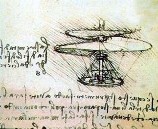 Flying machine, Da Vinci